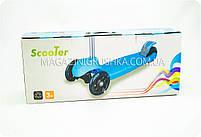 Самокат трехколёсный «Scooter» (Разноцветные колеса колеса) SC16004, фото 4