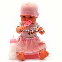Пупсик «Малюки» Кукла Limo Toy №1 (соска, бутылочка, горшок) M 1493, фото 1