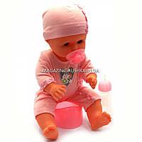 Пупсик «Малюки» Кукла Limo Toy №3 (соска, бутылочка, горшок) M 1493, фото 1