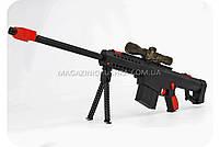 Снайперская винтовка детская для стрельбы водными пулями с электронным механизмом самовзвода, фото 3