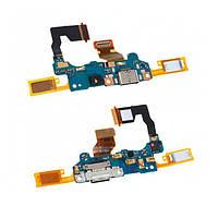 Плата нижня (плата зарядки) HTC One M10   HTC 10 з роз'ємом зарядки і компонентами