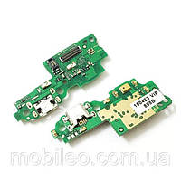 Плата нижняя (плата зарядки) Huawei Honor 5C | Honor 7 Lite | NEM-L51 | NEM-L21 с разъемом зарядки и компонентами