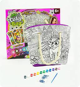 Сумочка-раскраска детская «Пони» COB-01-04