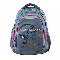 Рюкзак молодежный YES Т-22 Music, 45*31*15см арт.554774