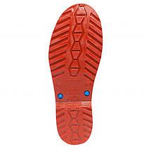 Сапоги OLDCOM женские резиновые Vivid синие с красной подошвой, фото 2