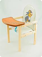 Стульчик для кормления детский «Зайка», фото 1
