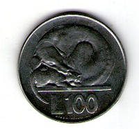Сан-Марино. 100 лир 1975 год №60
