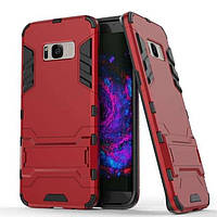 Чохол Iron для Samsung Galaxy S8 / G950 броньований бампер Броня Red
