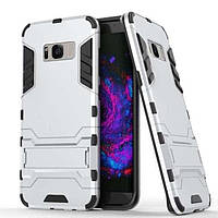 Чохол Iron для Samsung Galaxy S8 / G950 броньований бампер Броня Silver