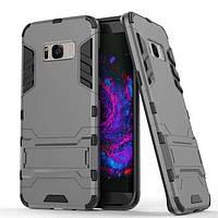 Чехол Iron для Samsung Galaxy S8 / G950 бронированный бампер Броня Gray