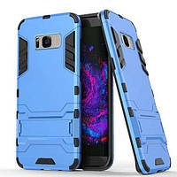 Чохол Iron для Samsung Galaxy S8 / G950 броньований бампер Броня Blue