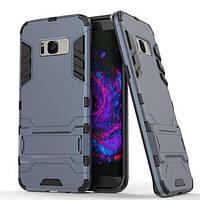 Чохол Iron для Samsung Galaxy S8 / G950 броньований бампер Броня Dark Blue