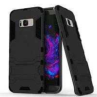 Чехол Iron для Samsung Galaxy S8 Plus / G955 бронированный бампер Броня Black, фото 1