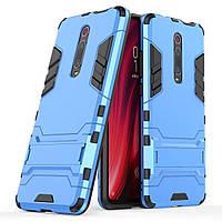 Чохол Iron для Xiaomi Mi 9T / Mi 9T Pro / Redmi K20 броньований бампер Броня Blue