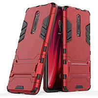 Чохол Iron для Xiaomi Mi 9T / Mi 9T Pro / Redmi K20 броньований бампер Броня Red