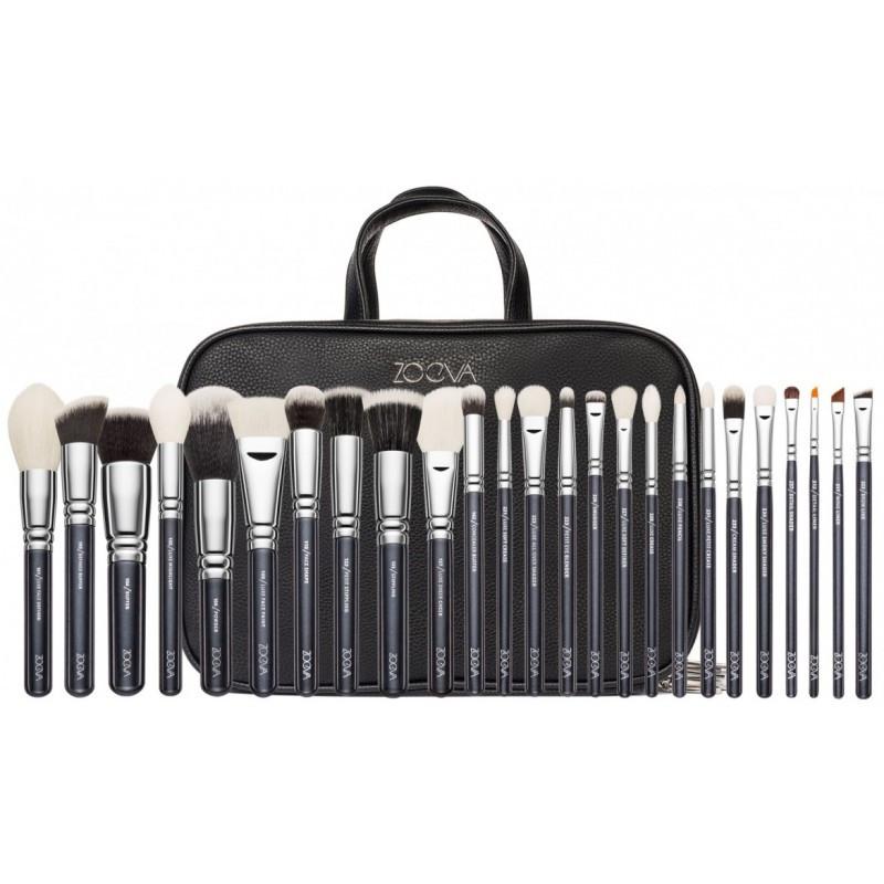 Набор кистей для макияжа Zoeva Makeup Artist Zoe Bag +25 шт