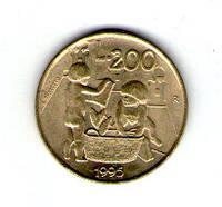 Сан-Марино. 200 лир 1975 год  №72