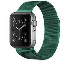Ремешок xCase для Apple watch 42/44 mm Milanese Loop Metal Green