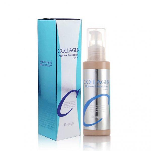 Оригинальный тональный крем  Enough Collagen Moisture Foundation № 21