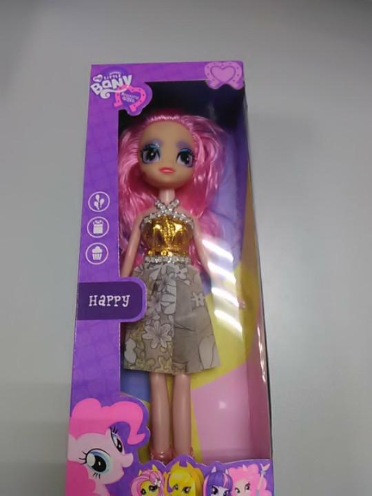 Кукла MY LITTLE PONY в золотистом платье