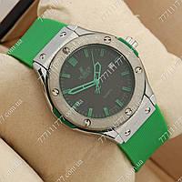 Часы мужские наручные Hublot Big Bang AA quartz Green/Silver/Blacklack, фото 1