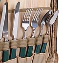 Набор для пикника КЕМПИНГ HB4-425 (посуда на 4 персоны + сумка с термо-отсеком), фото 4