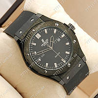 Часы мужские наручные Hublot Big Bang AA quartz all Black, фото 1