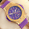 Часы мужские наручные Hublot Big Bang AAA Purple/Gold/Purple