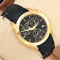 Часы мужские наручные Tissot quartz Chronograph Black/Gold/Black, фото 1
