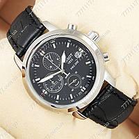 Часы мужские наручные Tissot quartz Chronograph Black/Silver/Black, фото 1