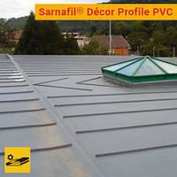 Декоративный профиль для имитации традиционных фальцованных кровель SARNAFIL DECOR PROFILE PVC, 25 мм х 3 м