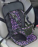 Детское автокресло универсальное. Бескаркасное автокресло для детей 1-3 года. Автокресла оптом и в розницу