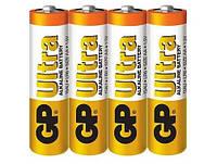 Батарейка GP ULTRA ALKALINE 1.5V 15AU-2DP40 LR6, AA (4шт сп.), Батарейка GP ULTRA ALKALINE 1.5 V 15AU-2DP40 LR6, AA (4шт сп.), Аккумуляторы и