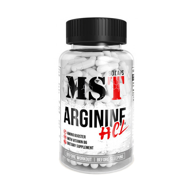 Амінокислота MST Nutrition Arginine HCL 90 caps
