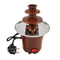 🔝 Шоколадный фонтан для фондю Chocolate Fountain, фондюшница, , Соковыжималки, кофемолки, фондюшницы