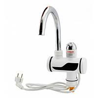 🔝 Водонагреватель, проточный кран водонагреватель, 1001960.Это, кран мгновенного нагрева воды , Проточні водонагрівачі, фільтри для води, насадки на