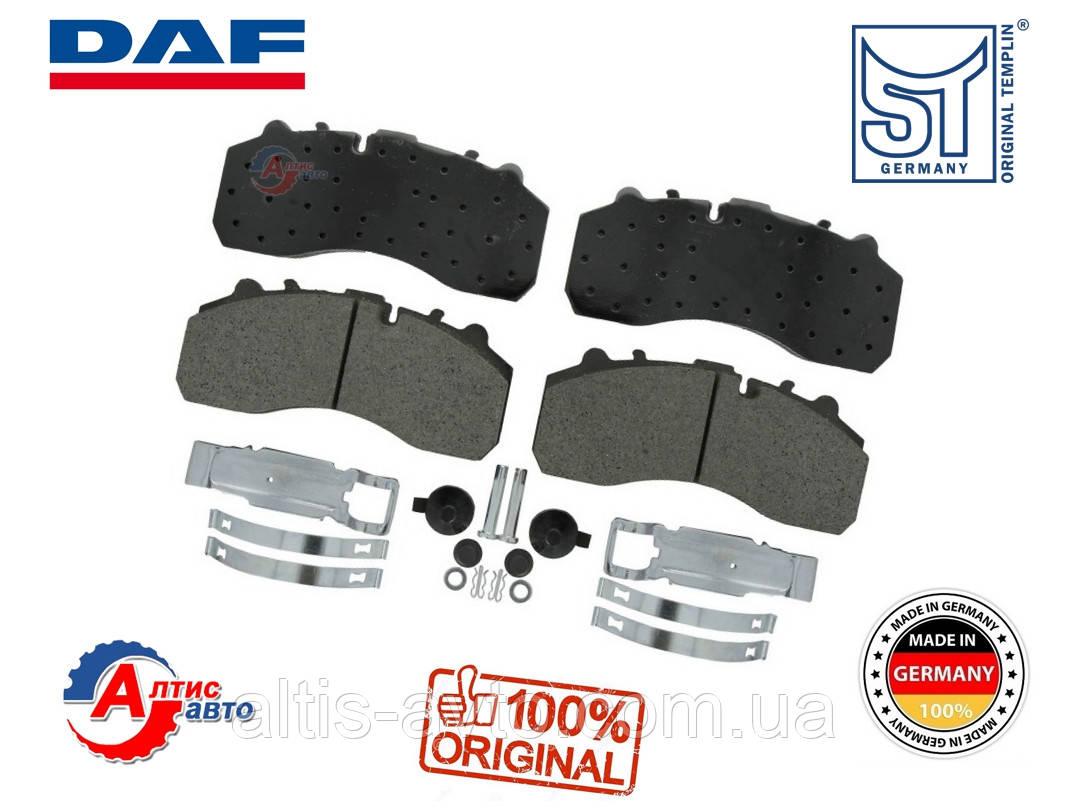 Тормозные колодки DAF CF85 75 65, XF95, 105, LF 55 (248x110) 1390428, 1734529, 1856108, 1439324