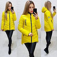 Куртка-парка зима (арт. 300) желтый