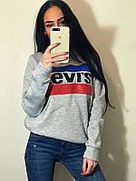 Женский свитшот Levis на флисе   распродажа