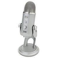 Профессиональный микрофон для записи. Blue Yeti
