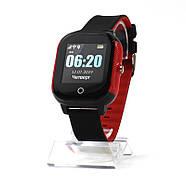 Смарт-часы детские JETIX DF50 Ellipse OLED с Wi-FI и Защитой от воды IP67 (Black-Red), фото 4
