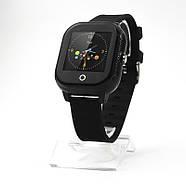 Смарт-часы детские JETIX DF50 Ellipse OLED с Wi-FI и Защитой от воды IP67 (Black), фото 4