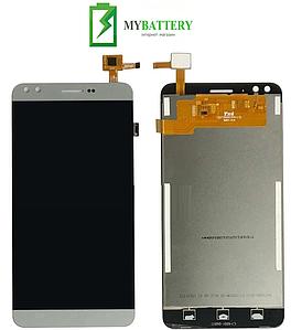 Дисплей (LCD) Prestigio 3504 MultiPhone Muze C3 с сенсором серый