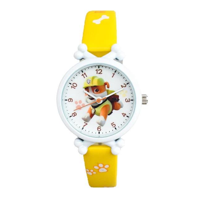 Дитячі годинники Здоровань жовті PAW patrol Rubble