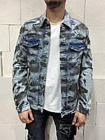 Мужская джинсовка 2Y Premium M4741-X, фото 1