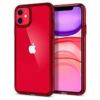 Чохол Spigen для iPhone 11 Hybrid Ultra, Red Crystal (ACS00405)