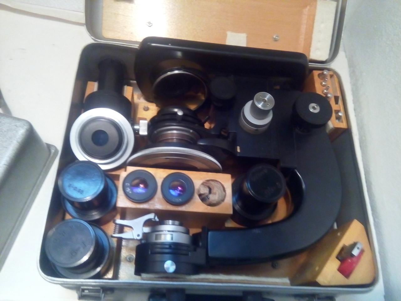 Поляризационный микроскоп МПД-1