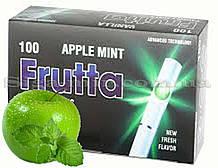 Сигаретные гильзы с капсулой Frutta яблоко-ментол 100 шт