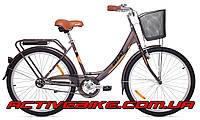 """Дорожный велосипед Аист (AIST) JAZZ 1.0 26"""" с корзиной"""