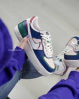 Кросівки Nike Air Force 1 Shadow Pink Blue